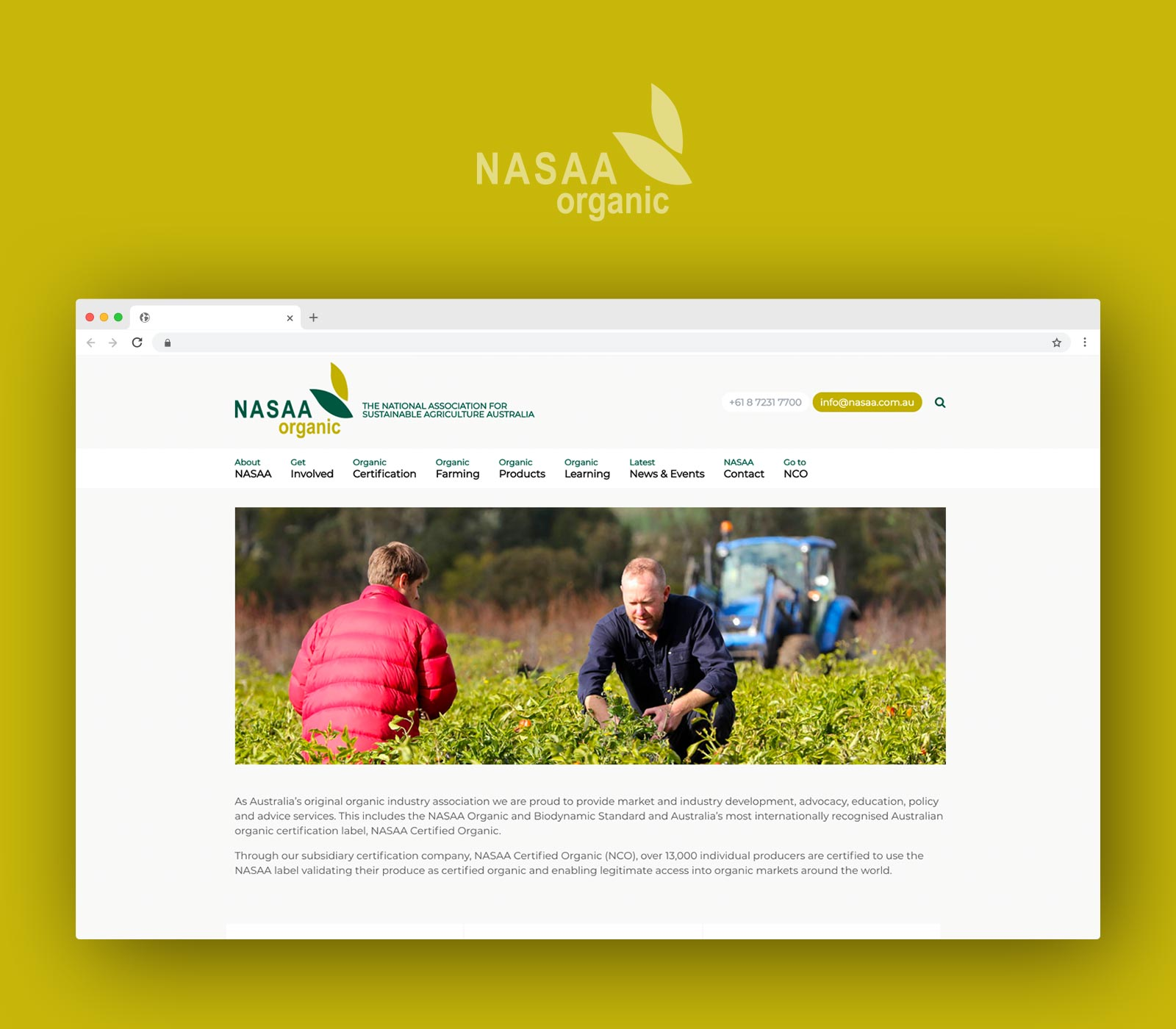 National Association for Sustainable Agriculture Australia: Industry Associations