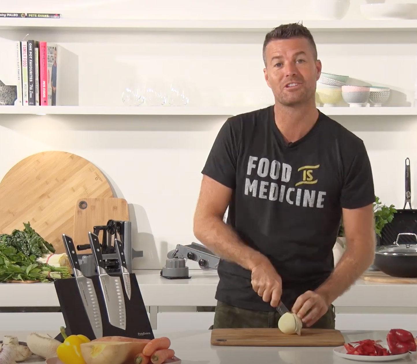 Pete Evans: Chef, Health Coach & Paleo Ambassadors